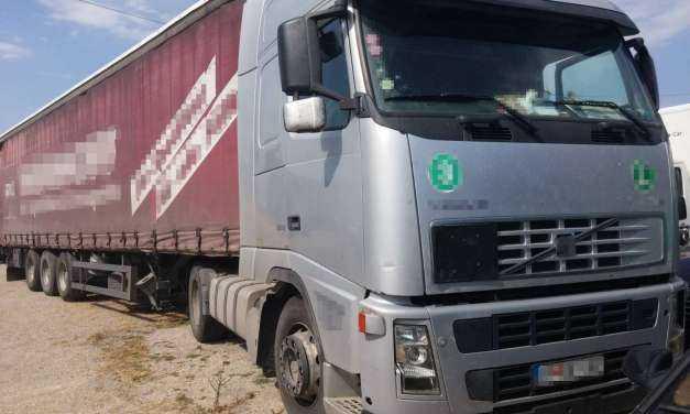 Αλλοδαπός φορτηγατζής φόρτωσε 7 λαθρομετανάστες για την Ελλάδα. Τον έκαναν «τσακωτό» στους Κήπους