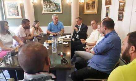 Επίσκεψη Σαχινίδη στο ΕΒΕ Ξάνθης