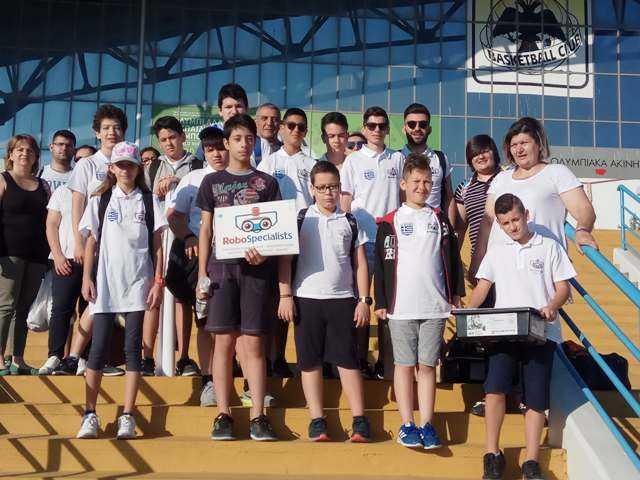 Τελικός Ολυμπιάδας Εκπαιδευτικής ΡομποτικήςWRO™2018