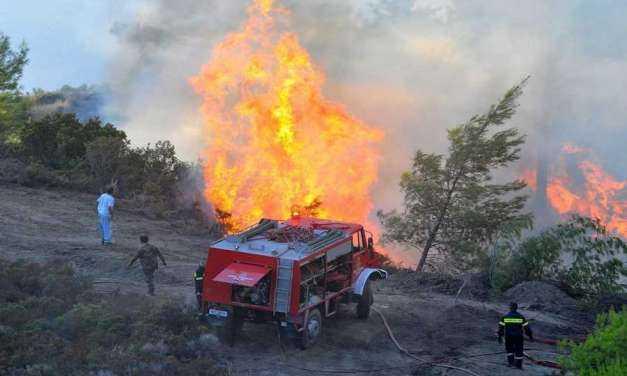 Π.Υ. Ξάνθης. Αυξημένος ο κίνδυνος πυρκαγιάς. Τι πρέπει να κάνεις