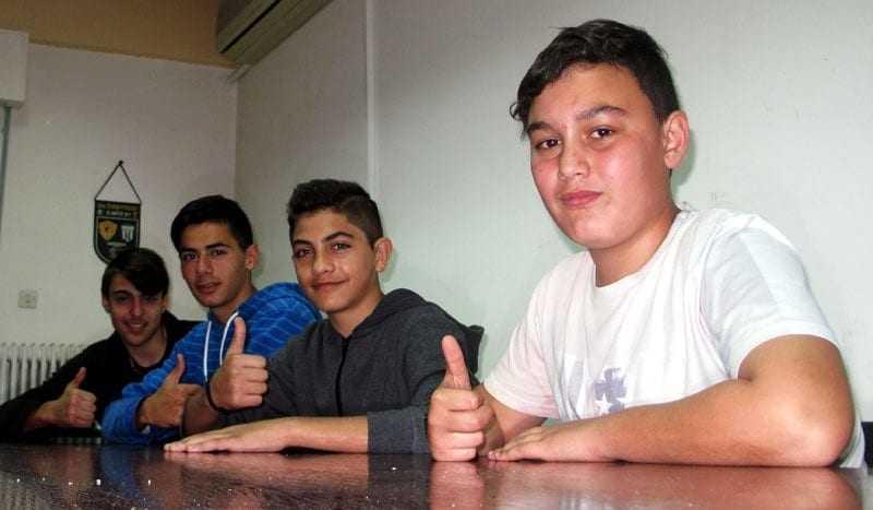 Δηλώσεις ποδοσφαιριστών μικτής ομάδας Νέων – Παίδων ενόψει του αγώνα με την ΕΠΣ Έβρου