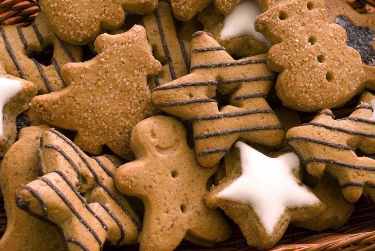 Μπισκότα Χριστουγεννιάτικα με Τζίντζερ