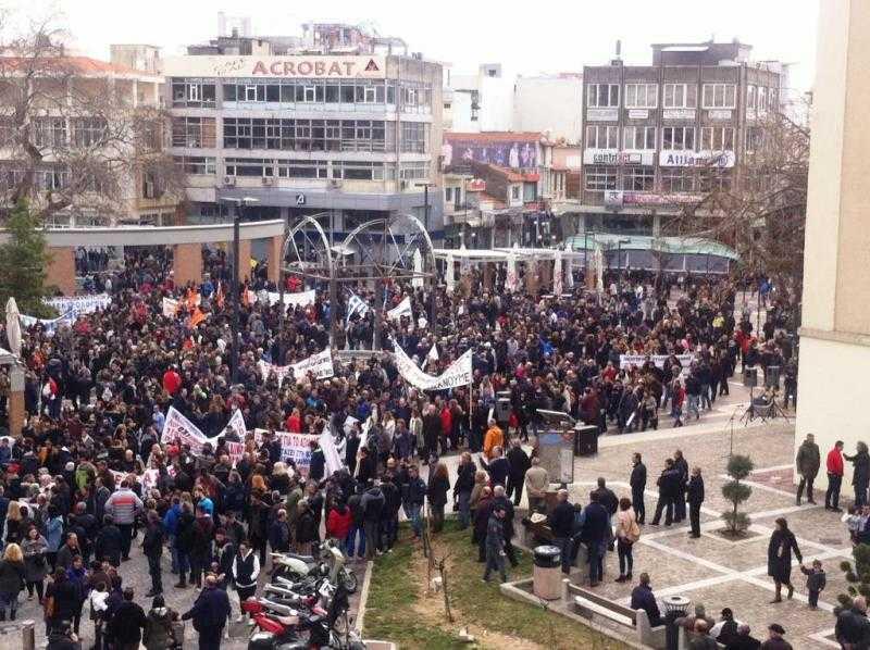 VIDEO: Η μεγαλύτερη απεργιακή συγκέντρωση στην Ξάνθη