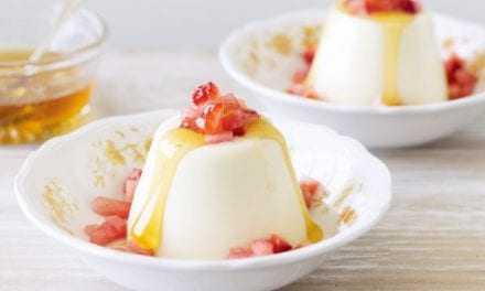 Μπαβαρουάζ ζελέ καρπούζι