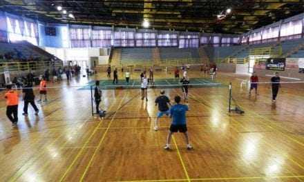 «Ευ Ζην»…παίζοντας badminton !