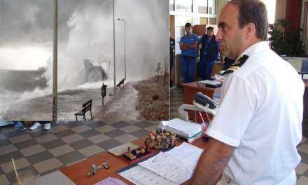 Α. Κιλίτσης Διοικητής Λ.Τ. Πόρτο Λάγους: Είναι στην κρίση του πλοιάρχου ο απόπλους όμως οι συνθήκες είναι δύσκολες