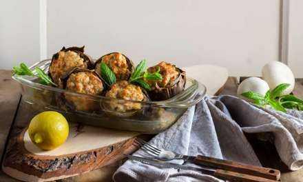 Αγκινάρες γεμιστές στο φούρνο Ένας διαφορετικός τρόπος να τις απολαύσετε