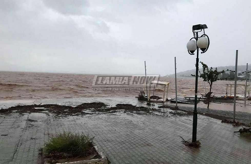 Ο κυκλώνας Ζορμπάς χτύπησε και την Φθιώτιδα
