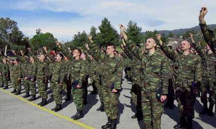 Την Παρασκευή ορκίζονται οι νέοι Στρατιώτες