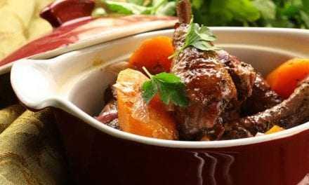 Κρασάτο κοτόπουλο κατσαρόλας