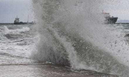 Θυελλώδεις άνεμοι στην θαλάσσια περιοχή ευθύνης του Λ.Τ. Λάγους