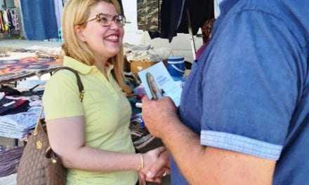 Περιοχές του Δήμου Τοπείρου επισκέφθηκε η υποψήφια βουλευτής Ν.Δ κα ΜΑΡΙΝΑ ΠΑΥΛΙΔΟΥ.