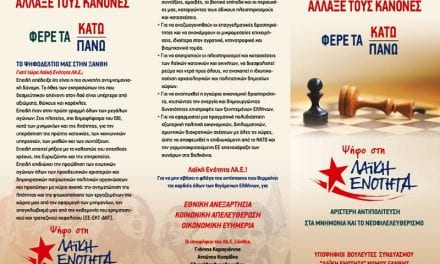 Υποψήφιοι βουλευτές της ΛΑΕ Ξάνθης