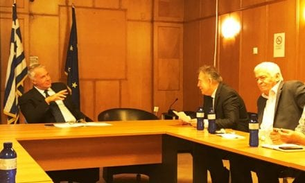 Α. Κοντός. Τα αγροτικά θέματα επί τάπητος με τον Υπουργό κ. Βορίδη. Ανησυχίες για το περιβάλλον