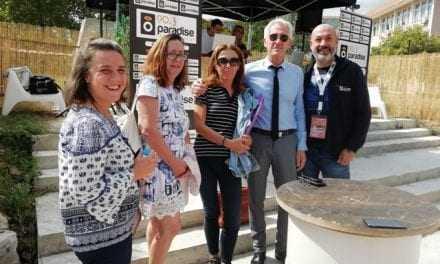 Επίσκεψη δημάρχου Μ. Τσέπελη στην εκδήλωση street food festival