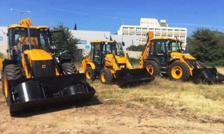 Στην Ξάνθη 3 νέα μηχανήματα έργου JCB απο το πρόγραμμα ΦΙΛΟΔΗΜΟΣ