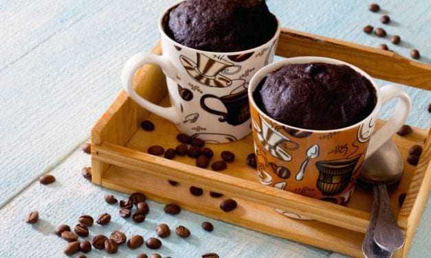 Κέικ σοκολάτας σε κούπα Εύκολη και γρήγορη συνταγή