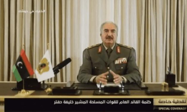 Χάφταρ προς Ερντογάν: «Θα σου κόψουμε το χέρι»