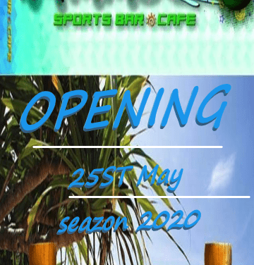 AMMOS Beach bar: «Ανοίγουμε στις 25 Μαΐου και σας περιμένουμε»