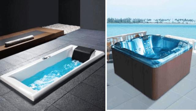 Υδρομασάζ: Οι top 4 προτάσεις για το σπίτι σου και spa υδρομασάζ