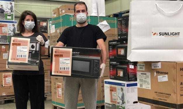 SUNLIGHT: Στήριξη σε νοσοκομεία, σχολεία και φορείς της Θράκης