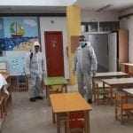 Προετοιμασίες και απολυμάνσεις στα σχολεία του Δήμου Τοπείρου για την επιστροφή των μικρών μαθητών