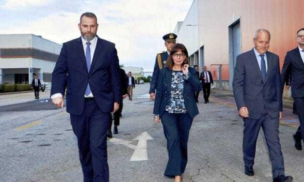Επίσκεψη της Προέδρου της Δημοκρατίας στη μονάδα ανακύκλωσης μπαταριών της SUNLIGHT στην Κομοτηνή