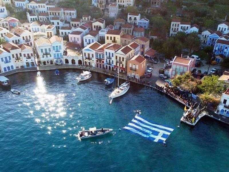 Η Τουρκία ορέγεται μια Νέα Ίμβρο στο Καστελόριζο,  ενώ η Ελλάδα όφειλε να το μεγεθύνει κατά 12 μίλια