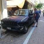 """ΚΑΒΑΛΑ: """"Τρελό"""" ημιφορτηγό σκόρπισε τον πανικό (BINTEO)"""