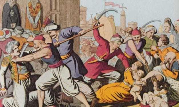Σφάξε με αγά μου να αγιάσω- Χιλιάδες Έλληνες στην Κωσταντινούπολη και το παζάρι της Ν. Κεσσάνης, την ώρα που περιμένουμε από ώρα σε ώρα το αιματοκύλισμα.