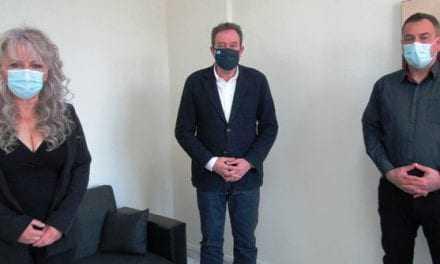 Τον βουλευτή Ροδόπης ΣΥΡΙΖΑ Δημήτρη Χαρίτου επισκέφτηκε αντιπροσωπεία της Ένωσης Αστυνομικών Υπάλληλων Ροδόπης