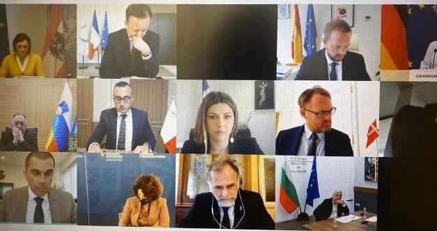 Η Υφυπουργός Τουρισμού Σοφία Ζαχαράκη σε τηλεδιάσκεψη Υπουργών και Υφυπουργών Τουρισμού της ΕΕ