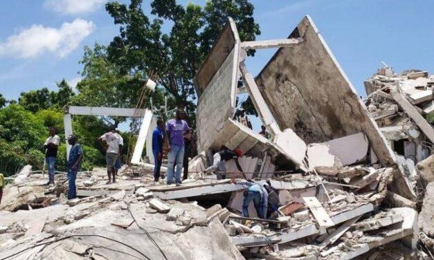 Σεισμός στην Αϊτή   Νέος απολογισμός κάνει λόγο για τουλάχιστον 304 νεκρούς