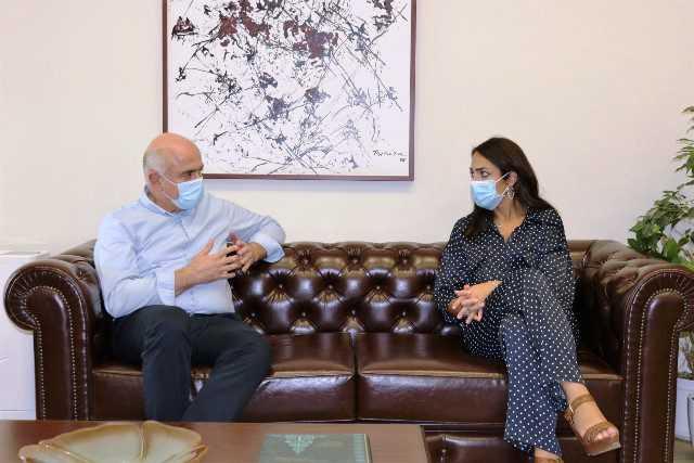 Η στήριξη των κοινωνικών δομών της ΑΜΘ στο επίκεντρο της συνάντησης του Περιφερειάρχη με την Υφυπουργό Κοινωνικών Υποθέσεων