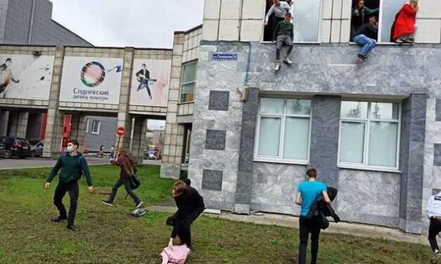 Ρωσία: Επίθεση με 8 νεκρούς σε πανεπιστήμιο – Φοιτητές πήδηξαν από τα παράθυρα για να σωθούν