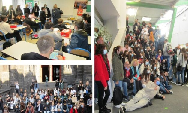Το 10o Δημοτικό Σχολείο Ξάνθης επισκέφτηκε την πόλη Clermont Ferrand της Γαλλίας στο πλαίσιο του προγράμματος Erasmus Plus, με θέμα «Playing with Maths)».