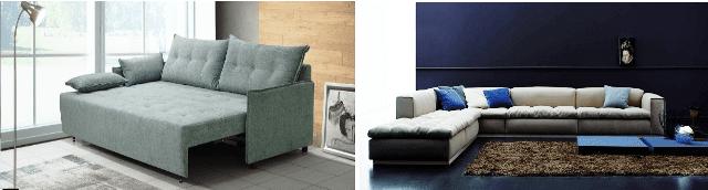 Οι καναπέδες είναι αναπόσπαστο κομμάτι στη δημιουργία του καθιστικού μας